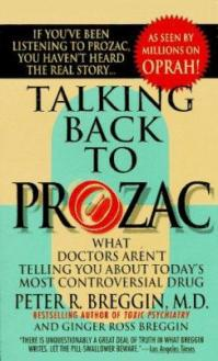 Talking back to prozac breggin peter